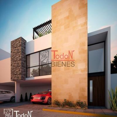 Pedregal La Carcaña, casa con roofgarden en fraccionamiento