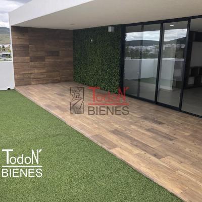 Casa frente a parque con 4 recámaras y una en planta baja, Lomas de Angelópolis Parque Chihuahua | Todo N' Bienes