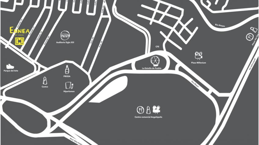 Departamento en Venta, TORRE ENNEA # | Se encuentra ubicado en Angelopolis, Puebla | Vendo y Rento