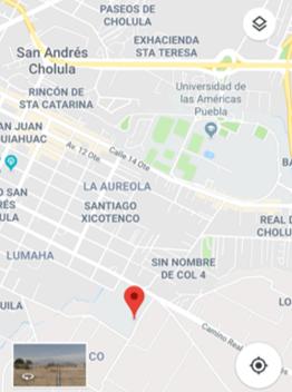 Terreno en Venta, CENTRO ESCOLAR SAN ANDRÉS CHOLULA # | Se encuentra ubicado en Centro San Andrés Cholula, Puebla |